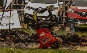 Farinato Race saltando fuego