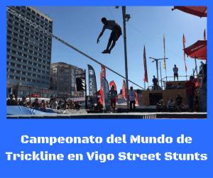 Campeonato del mundo de Trickline en Vigo