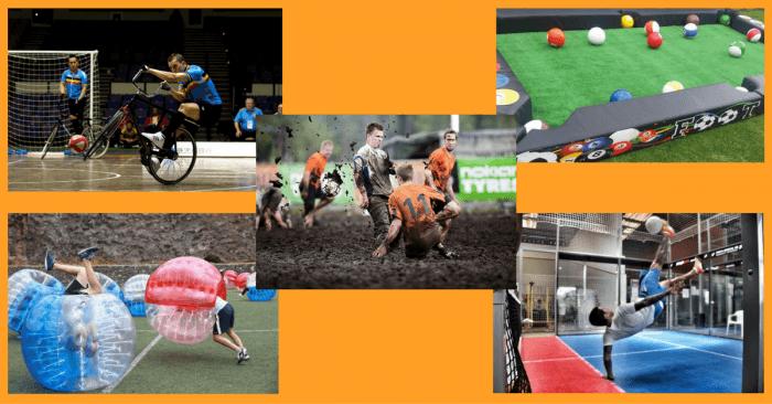 5 maneras distintas y divertidas de jugar al futbol