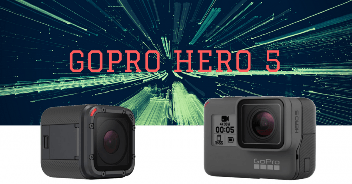 gopro hero 5 black y session