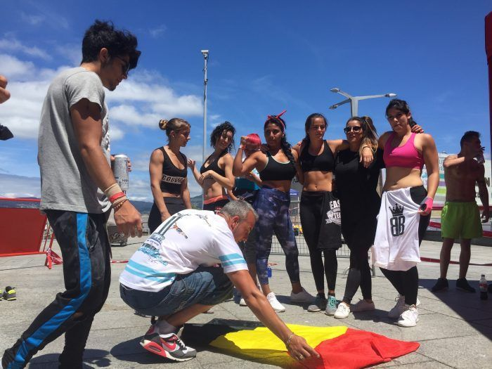 Workout en vigo street stunts