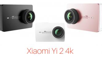 Xiaomi Yi 2 4k > Análisis sincero y dónde comprarla #