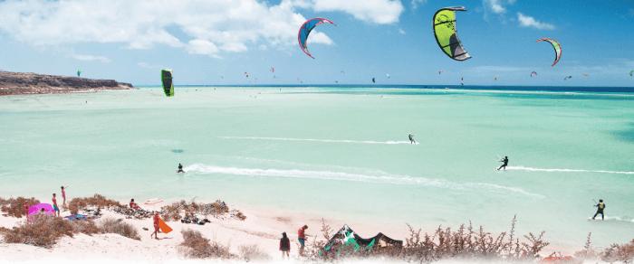 kitesurf en sotavento fuerteventura