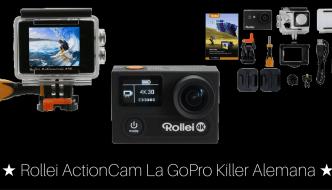Rollei Actioncam # La GoPro Killer Alemana #