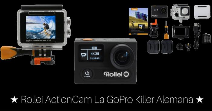 Rollei Actioncam, la GoPro killer alemana