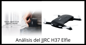 JJRC H37 Elfie > Review y videos del drone selfie plegable #