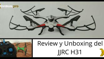 JJRC H31 ¡Un drone acuático e indestructible para aprender!