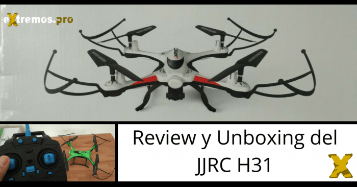 Analisis review y unboxing del jjrc h31