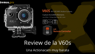 V60s > Una cámara deportiva 4k muy barata