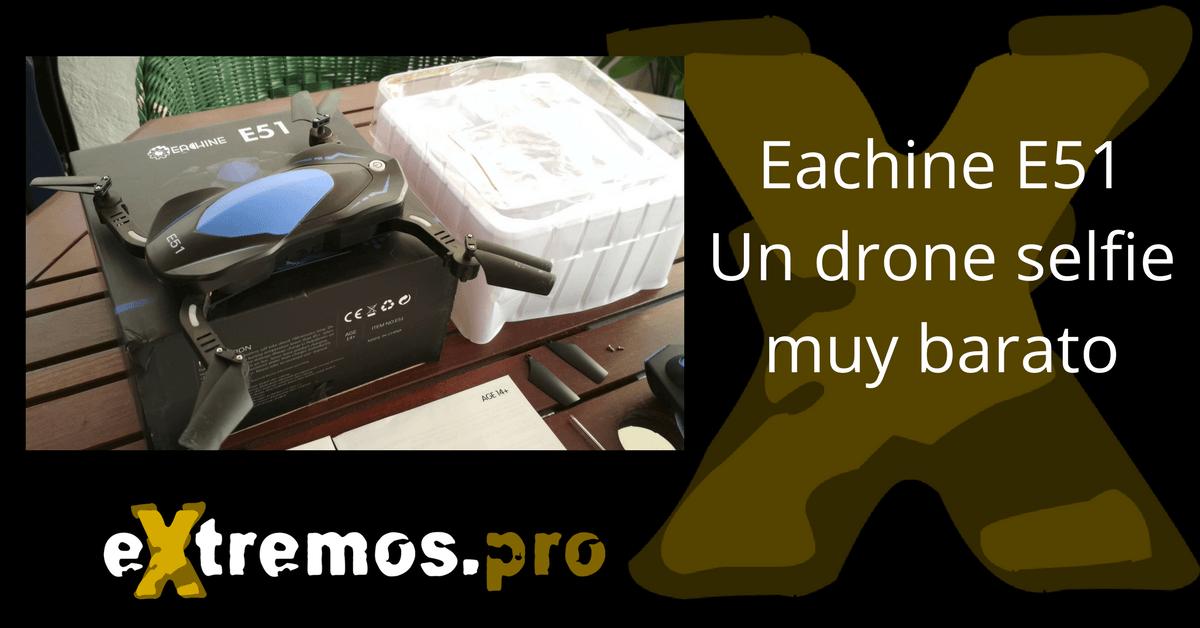 eachine e51 drone selfie plegable