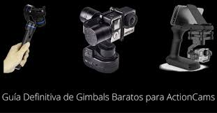 gimbals baratos para actioncams