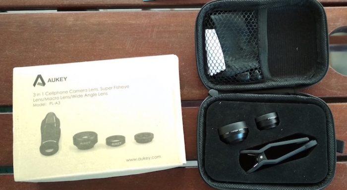 kit de lentes aukey pl a3