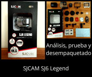 SJCAM SJ6 Legend # Opinión personal > Review y videos
