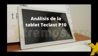 Teclast P10. Análisis de la tablet barata de 8 nucleos