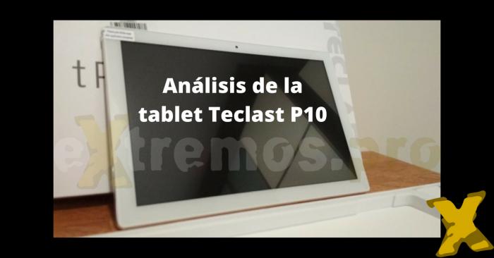 teclast p10 analisis de la tablet