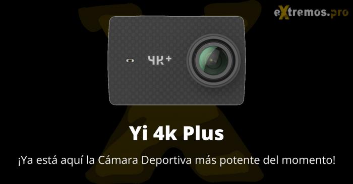 Yi 4k plus de Xiaomi analisis